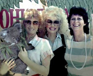Dolly Parton in Cohunu Koala Park