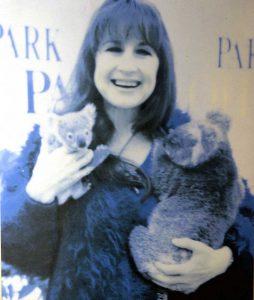 Judith Durum in Cohunu Koala Park