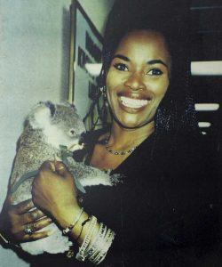 Marcia Hynes in Cohunu Koala Park