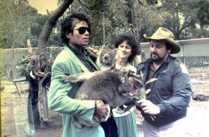 Michael Jackson in Cohunu Koala Park