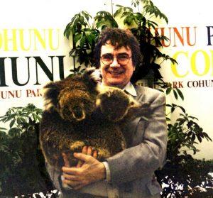 Dudley Moore in Cohunu Koala Park